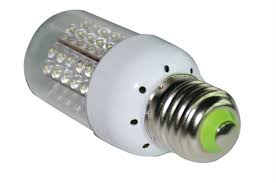 led general purpose white light bulb 50 watt equivalent uses 4