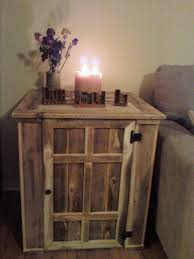 Reclaimed Wood Night Stands