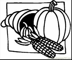 Incredible Thanksgiving Cornucopia Coloring Pages Printables With Page And Pdf