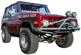 66-77 Ford Bronco Bumpers - Custom Or Stock - Toms Bronco Parts
