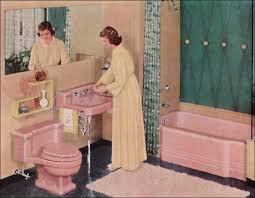 16 retro pink bathroom styles of the 1950s mid century bathroom