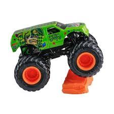 Hot Wheels Monster Jam Jester Truck Re-Crushable Car Diecast 1:64