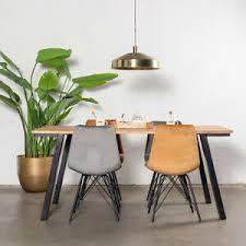 details zu esstisch mansour tisch mango metall schwarz dinnertisch esszimmertisch neu