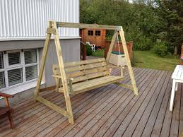 Inspirations Porch Swing With Stand