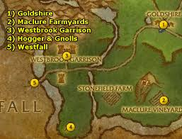 Wow Brackwell Pumpkin Patch Map by Ding85 U0027s Alliance Gnome Guide