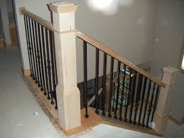 Model Staircase: Newel Posts Balusters And Handrail Install Two ... How To Replace Banister Newel Post Handrail And Spindles On A Banister Attachment To Install A Wooden Handrail On Split 42 White Wood Stair Railing Modern Home Designs Steep Stairs Rails Iron Balusters August 2010 Deckscom Deck Railings Installing Baby Gate Without Drilling Into Insourcelife Cooper Stairworks Tips Techniques Using Post Hdware For Iron X Installation Animation Youtube Chaing Your Wrought Fancy