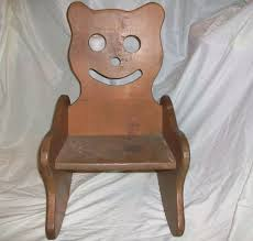 Child Teddy Bear Wood Rocking Chair Hand Made Folk Art Toddler ... 10 Best Rocking Chairs 2019 Building A Modern Plywood Chair From One Sheet White Baby Rabbit With Short Ears Sitting On Wood Armchairs Recliner Ikea Striped Upholstered Mahogany Framed Parts Of Hunker Uhuru Fniture Colctibles Sold Rocker 30 The Thing I Wish Knew Before Buying For Our Buy Living Room Online At Overstock Find More Inoutdoor Classic Wooden Like Hack Strandmon Diy Wingback Interiors