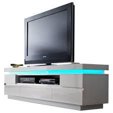 mca furniture lowboard nr 48982ww8 front und korpus weiß hochglanz lackiert mit 5 schubkästen und 1 fach tv unterteil für ihr wohnzimmer