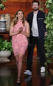 Elizabeth Olsen Chris Evans The Ellen DeGeneres Show