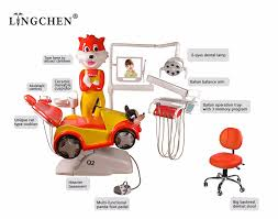Adec Dental Chair Weight Limit by Lingchen Dental Lovely Cartoon Pediatric Dental Unit Children