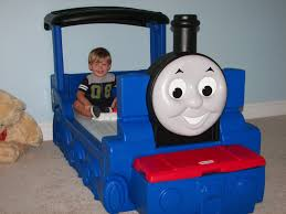 Thomas The Tank Engine Toddler Bed by Economos Adventures August 2010