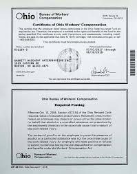 bureau workers comp garrett basement waterproofing credentials for akron ohio