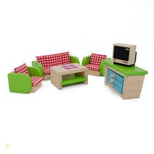 living room dollhouse furniture estia holzspielwaren