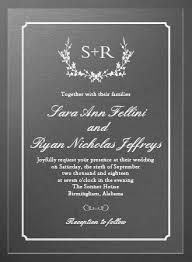 Rustic Wreath Clear Wedding Invitations