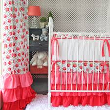 Coral And Mint Crib Bedding giveaway caden lane crib bedding set project nursery