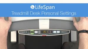 Lifespan Treadmill Desk Gray Tr1200 Dt5 by Lifespan Treadmill Desk Personal Settings Youtube