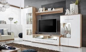 anbauwand wohnzimmer schrankwand möbelset wohnwand tv