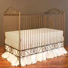 iron baby crib