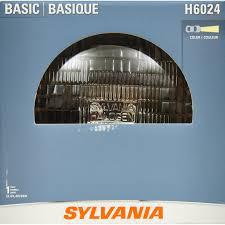 sylvania h6024 6basic headlight bulb sylvania automotive