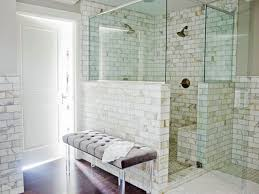 Winsome Bathroom Corner Shower Tile Ideas Wall Replacement Bathrooms ... Good Looking Small Bathroom Bath Ideas Bathrooms Half Design Without Piece Enclosure Trim Enchanting Panels Options Surround 8 Top Trends In Tile For 2019 Home Remodeling Shower Wall For Tub 59 Simply Chic Floor And Designs Apartment Therapy 15 Cheap Remodel Light Grey Tiles Best Beautiful Tiling A Shower Wall Travertine Tile Paint 10 Of The Most Exciting How To Install Howtos Diy