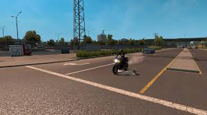 MOTORCYCLE IN TRAFFIC V1.0.0 • ATS Mods | American Truck Simulator Mods