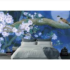 lifme benutzerdefinierte 3d wandaufkleber blaue vögel hd