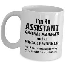 Amazoncom Gifts For Assistant General Manager Mug I Am Not A