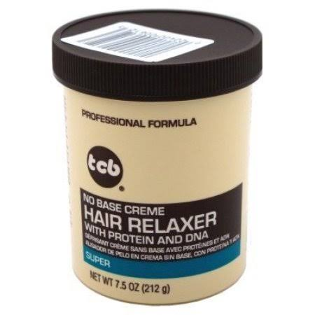 TCB No Base Hair Relaxer Creme - Super, 7.5oz