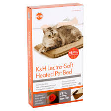 Kh Thermo Kitty Heated Cat Bed by K U0026h Lectro Soft Outdoor Heated Bed Walmart Com