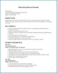 Advertising Executive Resume Senior Marketing Account Agency Examples 0zhduf Inspirational Sample Template