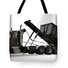 100 Roll Off Truck Tote Bag For Sale By Olivier Le Queinec
