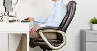 amazon prime big tall executive chair only 99 99 shipped
