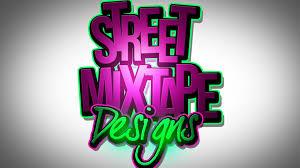 PSD shop CS6 Adobe Text Mixtape Cover Art Graphic Design