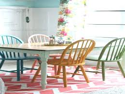 Different Color Dining Chairs Kitchen Painted Colors Best Colorful Ideas On Furniture