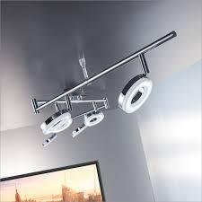 b k licht led deckenleuchte led board warmweiß led deckenle wohnzimmer decken spot leuchte strahler inkl 4 5w 450lm