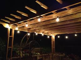 outdoor string lighting for patio lighting with light bulb string