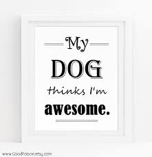 Dog Wall Art Quotes Sayings Funny Sign Regarding