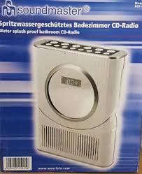 soundmaster bcd250 bad küchen stereo radio cd uhr