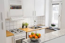 Ideas Small Apartment Kitchen Design Or By Contemporary