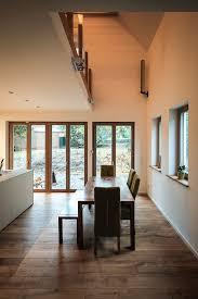 esszimmer wohnbereich eiche modern galerie mit luftraum