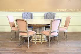 Upholstered Dining Chairs With Nailheads by 8 High Quality Casual Dining Chair With Soft Peach Upholstery