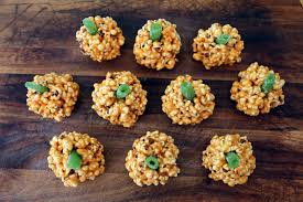 Healthy Halloween Candy Commercial Youtube by Halloween Salted Caramel Popcorn Jack O Lanterns With Green Candy