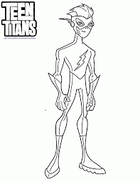 Exercise Free Coloring Pages Of Teen Titans Go Reading Beast Boy