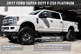 Custom Lifted 2017 Ford F-150 And F-250 Trucks | Lewisville ...