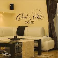 wandtattoo chillout zone wandaufkleber lounge wohnzimmer