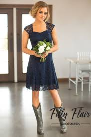 The Perfect Bridesmaid Dress For A Country Wedding