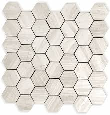 11 75 a sq ft white oak marble limestone honed finish 2 hexagon
