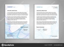 Plantilla Hoja Membretada Presentación Carta Negocios Para Imprimir
