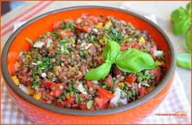 cuisine lentille ma salade de lentilles pour faire le plein d énergie la cuisine