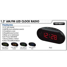 weitere uhren funk wecker digital schlafzimmer fm am radio